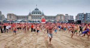 Did you know that thousands of dare devils start the new year by plunging into an icy cold North Sea at Scheveningen at exactly midday on 1 January?