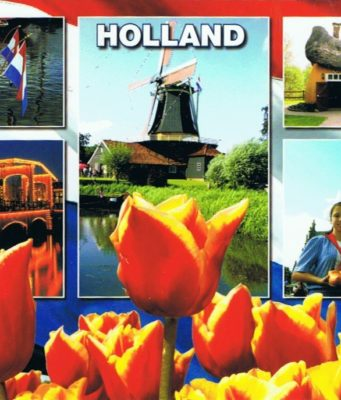 postcard Holland