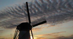 Kortelandse Windmill in Alblasserdam (South Holland)