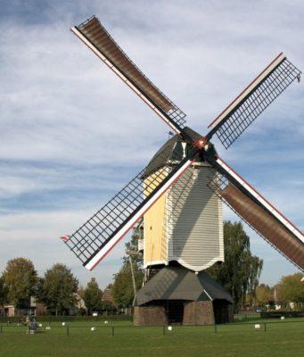 Windmill 'Aurora' in Baexem (Limburg)