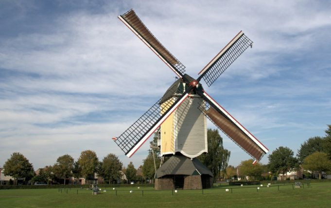 Windmill 'Aurora' in Baexem (Limburg)