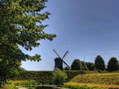 Windmill at Fort Bourtange (Groningen)
