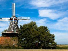 Windmill 'De Jonge Hendrik' in Den Andel (Groningen)