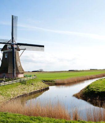 Windmill 'Goliath' in Eemshaven (Groningen)