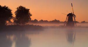 Windmill 'De Helper' in Paterswoldsemeer, Haren (Groningen)