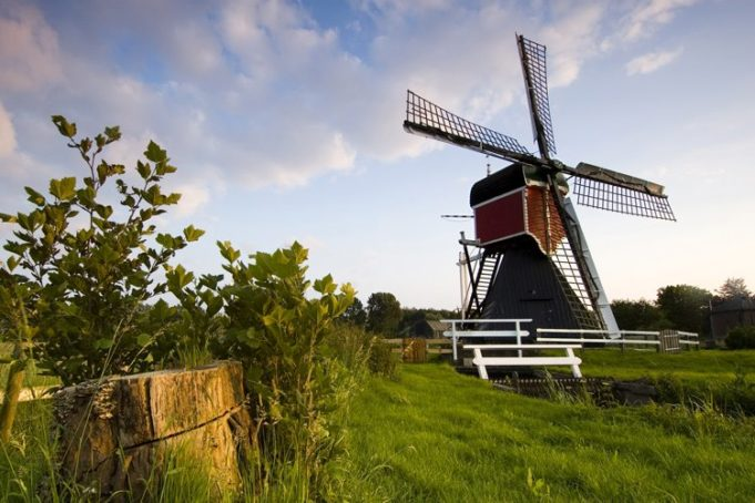 Buitenwegse Windmill in Oud-Zuilen (Utrecht)