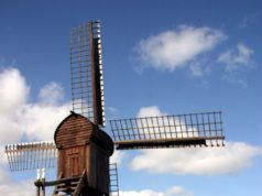 Windmill 'Dorismooltsje' in Oudega (Friesland)