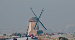 Groeneveldse Windmill in Schipluiden (South Holland)