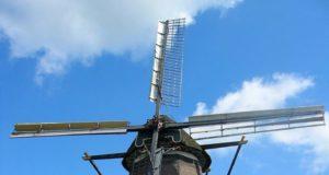 Windmill 'De Ooievaar' in Terwolde (Gelderland)
