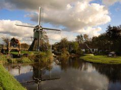 Windmill 'De Trouwe Wachter' in Tienhoven (Utrecht)