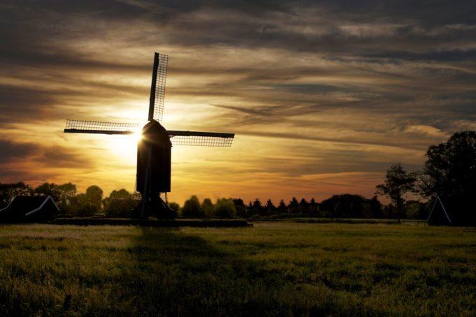 Wissink's Windmill in Usselo (Overijssel)