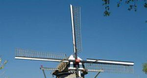 Windmill 'De Vlijt' in Wapenveld (Gelderland)