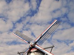 Windmill 'St Anna' in Weert (Limburg)