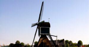 Windmill 'Grote Molen' in Zoeterwoude-Rijndijk (South Holland)