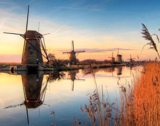 Windmills Kinderdijk