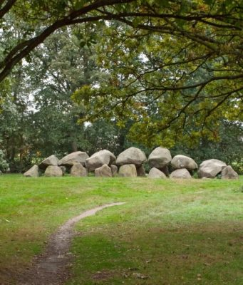 mysterious megalithic stone graves in Drenthe