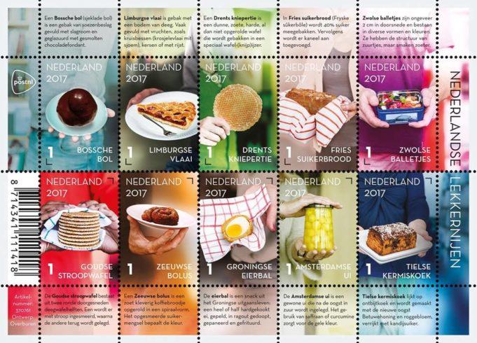 PostNL stamps