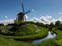 Windmill 'De Haan' in Brouwershaven (Zeeland)