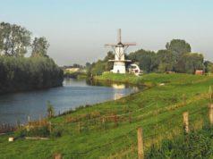 Windmill 'De Vlinder' in Deil (Gelderland)