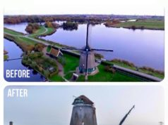 Twiske Windmill in Landsmeer (north of Amsterdam)