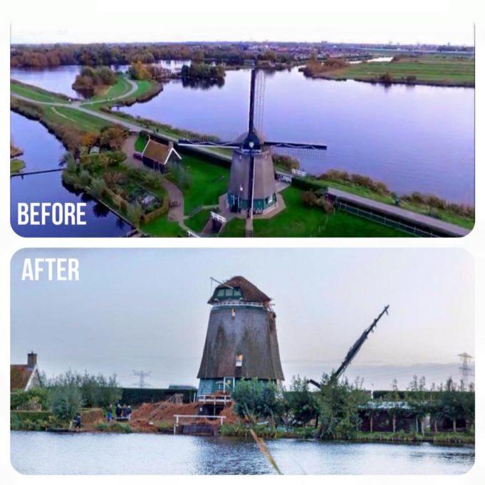 Twiske Windmill in Landsmeer (north of Amsterdam)