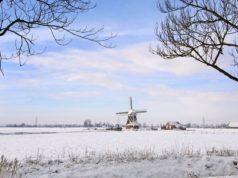 Windmill 'De Jonge Held' in Leegkerk (Groningen)