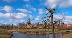 Windmill 'De Valk' in Montfoort (Utrecht)