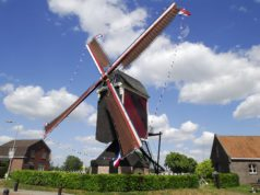 Windmill 'Sint Jan' in Stramproy (Limburg)