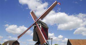 Windmill 'Sint Jan' in Stramproy (Limburg)