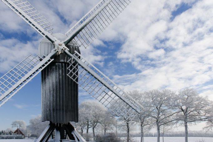 Windmill 'Ter Haar' in Ter Apel (Groningen)