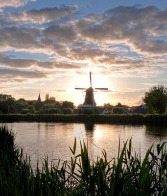Windmill 'Fram' in Woltersum (Groningen)