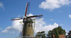 Windmill 'De Korenbloem' in Zonnemaire (Zeeland)