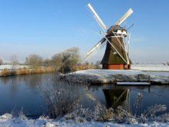 Windmill 'Krimstermolen' in Zuidwolde (Groningen)