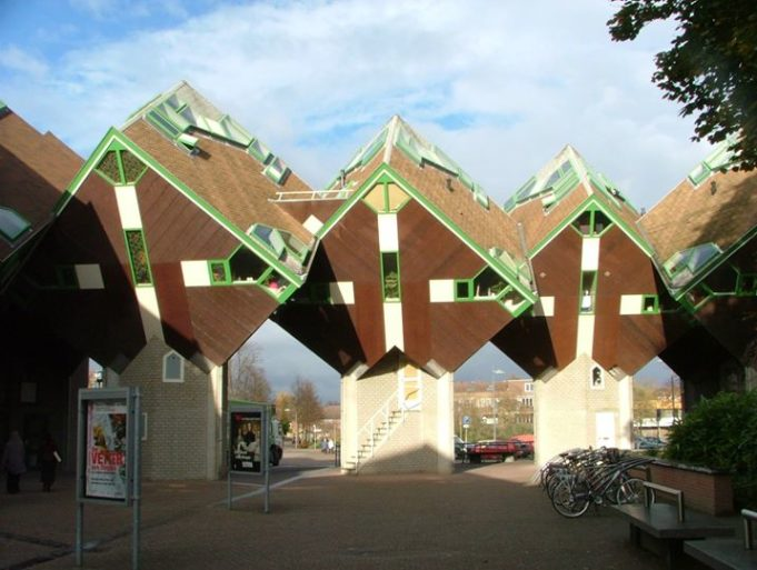 Helmond cube houses