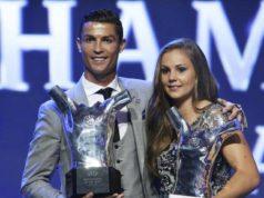Lieke Martens and Cristiano Ronaldo