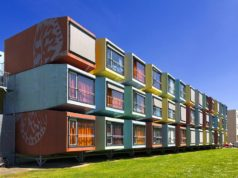 Did you know that due to the shortage of student accommodation in the Netherlands, fully self-contained shipping containers have been installed at several university cities? Each unit has its own kitchenette, toilet and tiny bathroom.