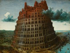 the Little Tower of Babel (c. 1563) by Pieter Bruegel the Elder is one of the most famous works in the collection of Museum Boijmans Van Beuningen