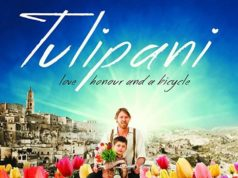 Did you know that Tulipani is a comedy drama about a farmer from the Dutch province of Zeeland who lost his farm during the catastrophic 1953 floods? In just 5 days he cycles all the way to Italy to start a new life. When he miraculously succeeds to grow tulips in the scorching heat of southern Italy, he becomes a local hero.... and then suddely disappears.