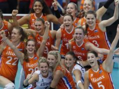 Congrats to the Dutch women's volleyball team for winning silver at the 2017 Women's EuroVolley Championship! Serbia beat the Dutch ladies 20-25, 22-25, 25-18,18-25 in the thrilling final in Azerbaijan.