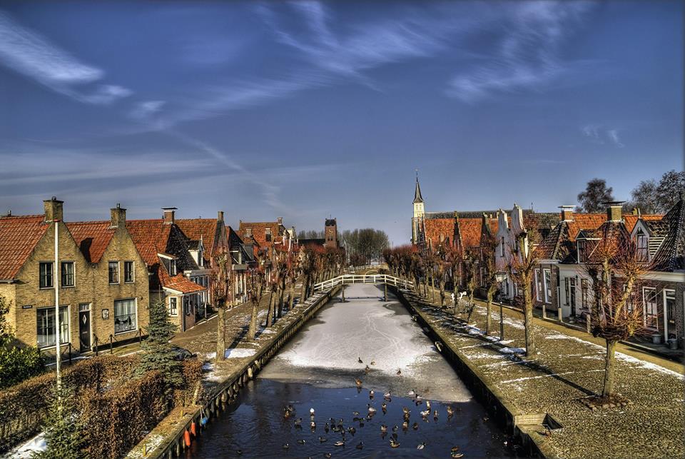 Friesland's smallest city measures just 350x350m ...