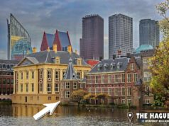 Did you know that the tower in the middle of the photo is the office of the Dutch prime minister Mark Rutte? The 'Torentje' is part of the Binnenhof complex in the Hague. Sometimes he gets strange reactions from foreign guests when he wants to show his 'little tower'.