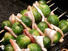 Did you know that a fast food joint in Winterswijk offers deep fried Brussels sprouts with bacon on a stick?