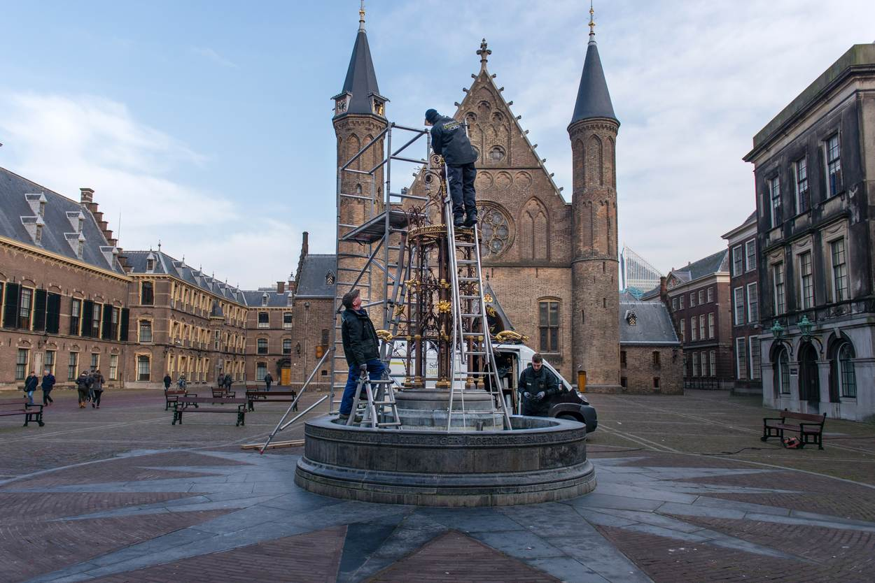 Did you know that the neo-Gothic fountain at Binnenhof in The Hague was originally designed for the World Exhibition in Amsterdam in 1883?