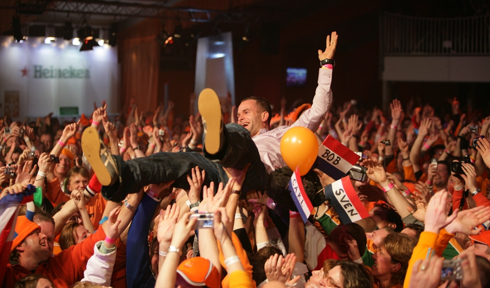 Did you know that the Holland Heineken House is the home away from home for Dutch athletes and fans in Pyeongchang?