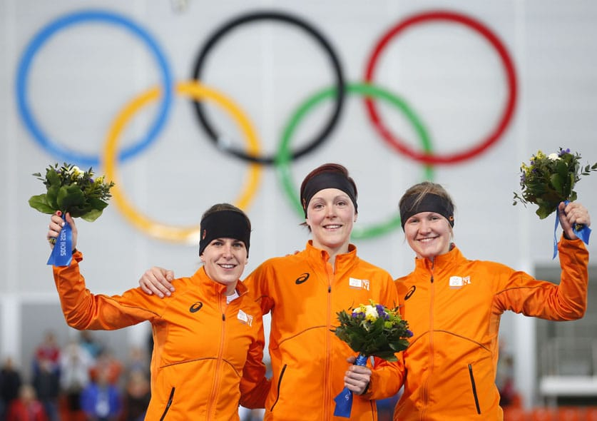 Did you know that Team NL kicks serious ass in speed skating at the Olympics? During the last Winter Olympics in Sochi the Netherlands won 24 medals in total: 23 in long-track speed skating and one in short-track speed skating.