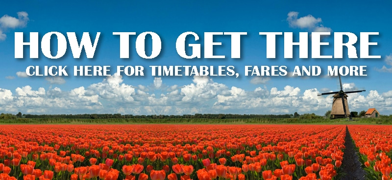 Keukenhof how to get there: timetables, fares and more