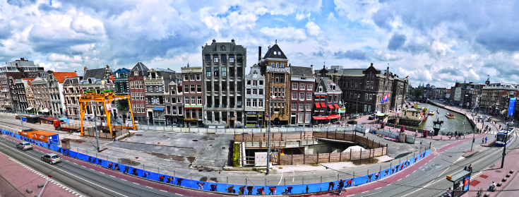 Did you know that the construction of the North/South metro line in Amsterdam not only came with a lot of headaches, annoyances and delays but also turned out to be an archaeological gold mine?