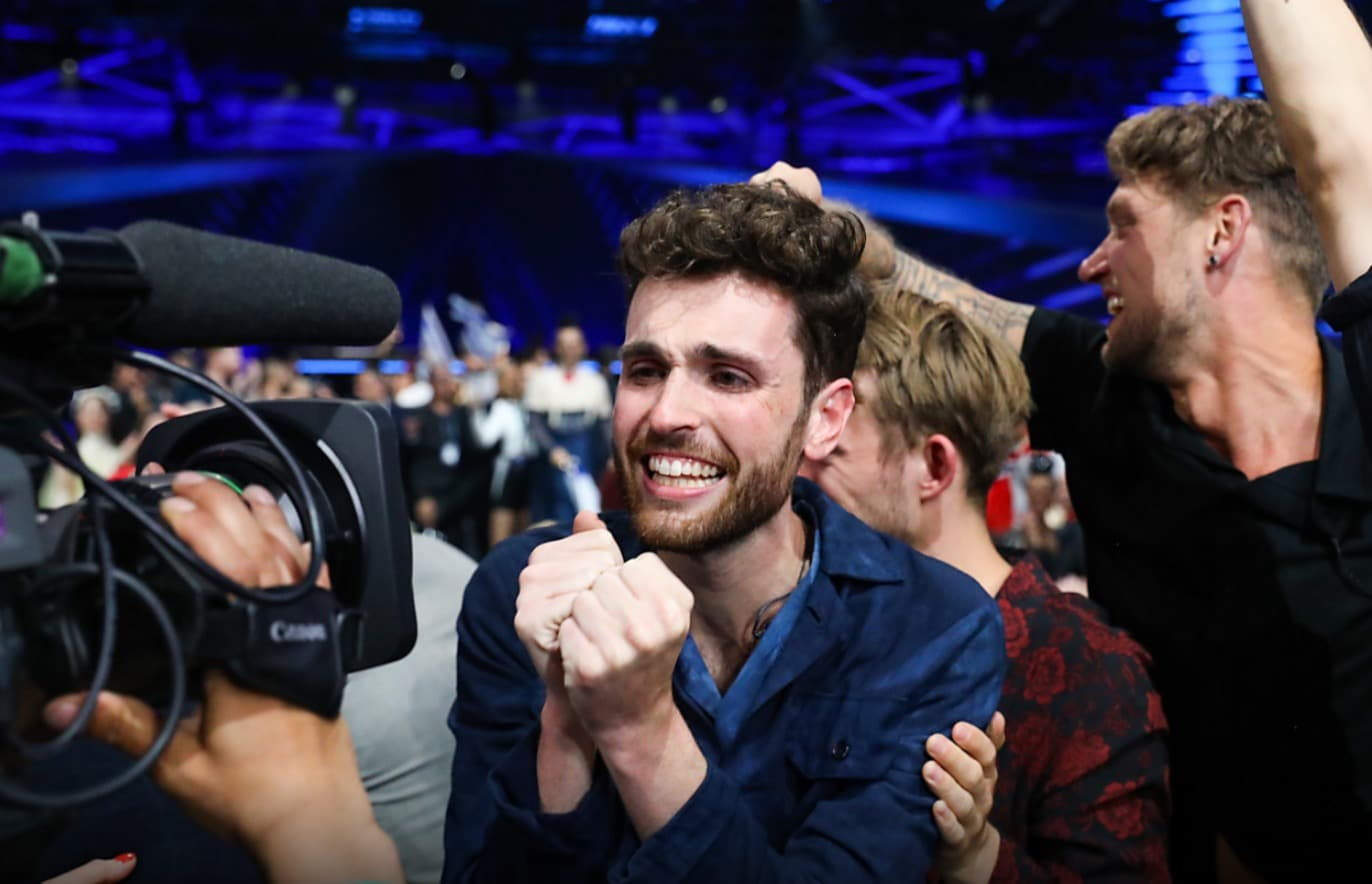 Congrats to Duncan Laurence for winning the 2019 Eurovision Song Contest in Tel Aviv! Did you know that this is the first Dutch victory since 1975?
